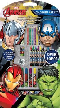 Marvel Avengers Colouring Art Kit