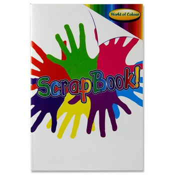 A4 Multicoloured 60 Pages Scrapbook by World of Colour