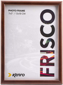 "Kenro Frisco Dark Oak Border Photo Frame 8x10"" (20x25cm)"
