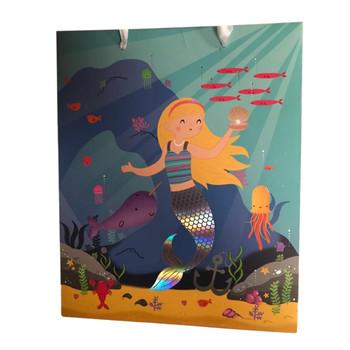 Mermaid Design Medium Every Day Gift Bag