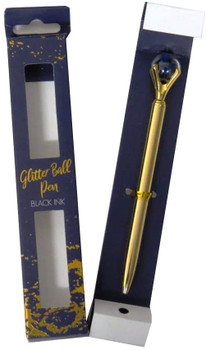 Jewel Glitter Ball Pen From The Opulent Geo Collection