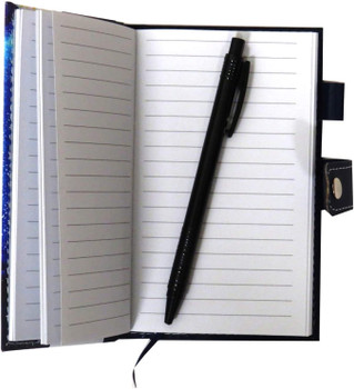 Slim Notebook With Pen From The Opulent Geo Collection