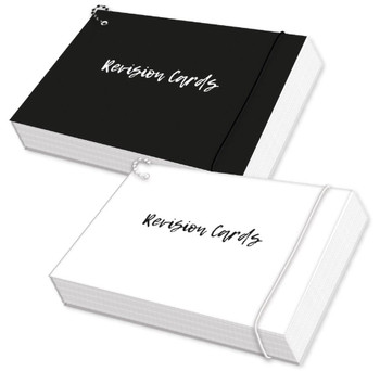 Black or White Revision Cards