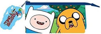 Adventure Time Multi Pocket Pencil Case
