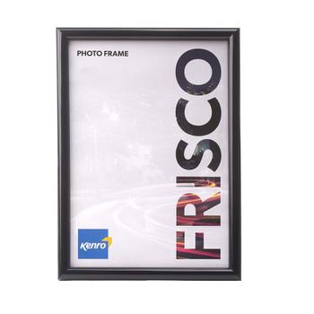 Frisco A3 Glass Black Photo Frame