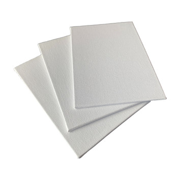 10x15cm Blank White Flat Stretched Board Art Canvas By Janrax