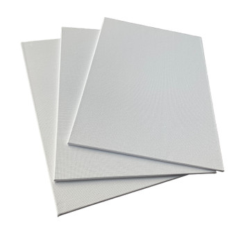 20x30cm Blank White Flat Stretched Board Art Canvas By Janrax