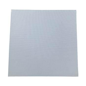 30x30cm Blank White Flat Stretched Board Art Canvas By Janrax