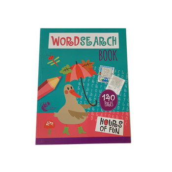 140 Pages Wordsearch Book by Chiltern Stationery