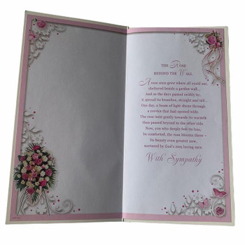Sympathy on the Loss of your Sister Greeting Card