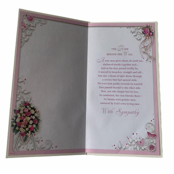 Sympathy on the Loss of Your Partner Greeting Card