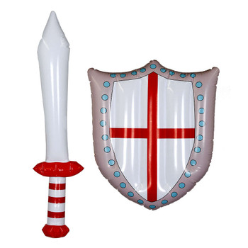 Inflatable England Sword and Shield