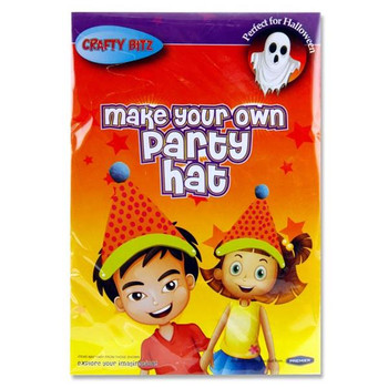 Make Your Own Halloween Party Hat by Crafty Bitz