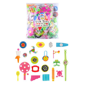 Bag of 100 Pieces Assorted Mini Toys