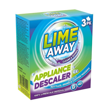 Pack of 3 Lime Away Appliance Descaler