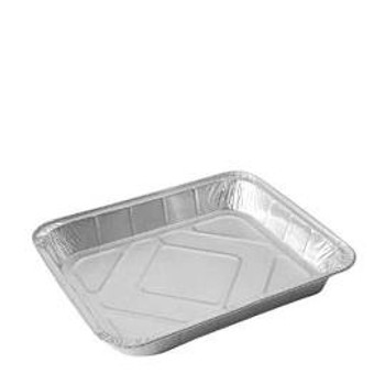 2 Large Foil Roasting Dishes 32cm x 26cm Approx