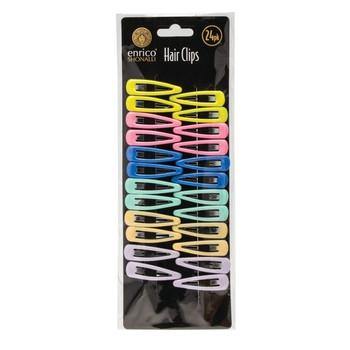 Pack of 24 Multicoloured Enrico Shonalli Hair Clips