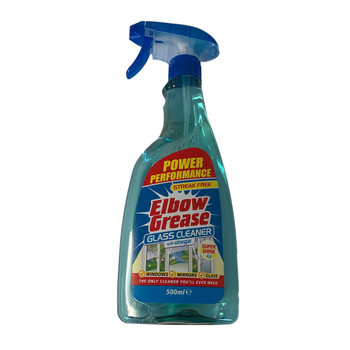 Elbow Grease Glass Cleaner With Vinegar 500ml