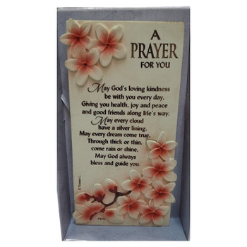 A Prayer For You Timeless Words Plaque