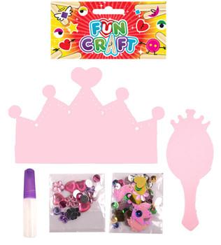 Princess Make Your Own Tiara Crown Kit {DC}