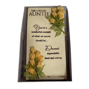 Special Auntie Timeless Words Plaque