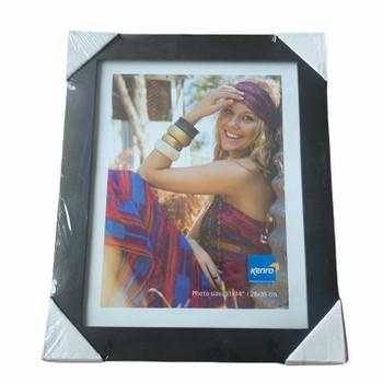 "Kenro Black Wood Photo Frame 11x14"" (28x35cm)"