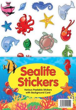Sealife Animal A4 Sticker Sheet