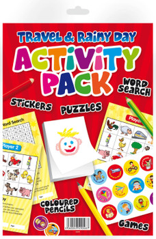 Activity Pack For Travel & Rainy Day