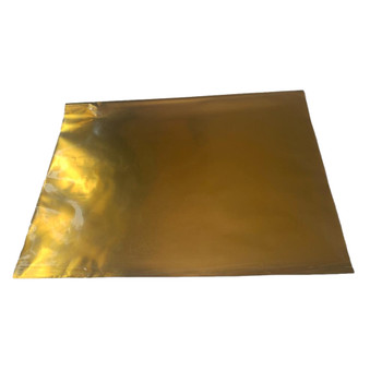 Pack of 25 Gold Metallic Gift Wrap Wrapping Paper Sheets