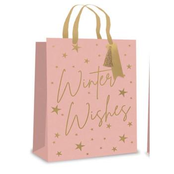 Blush Winter Wishes Christmas Perfume Gift Bag