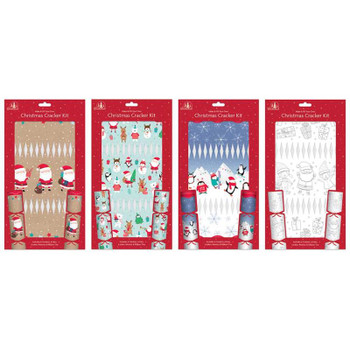Make And Fill Your Own Cute Design Christmas Cracker Kit