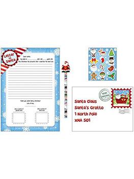 Henbrandt Christmas Letter to Santa 5pc Set