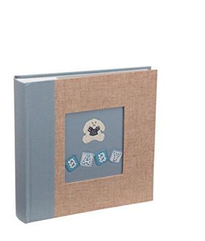 "Kenro Little Bunny Blue Memo Photo Album 200 6x4"" Pictures"