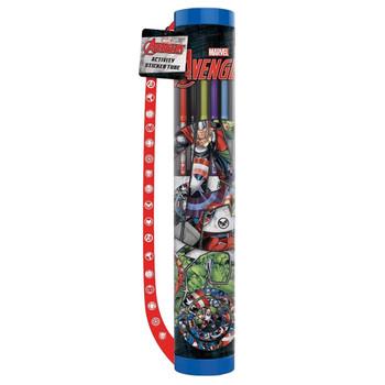 Avengers Icon Activity Sticker Tube