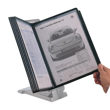Q-Connect Quick Load Desk Top Unit Light Grey KF04596