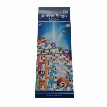 1-480 Jumbo Bingo Ticket Book