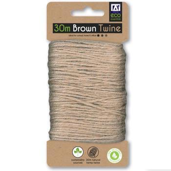 30m Brown Twine