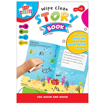 Wipe Clean Story Creator Book