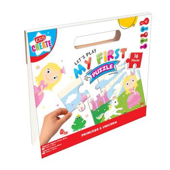My 1st Puzzle Princess and Unicorn Design