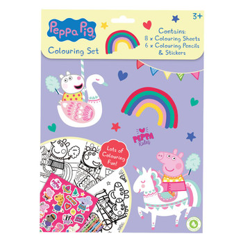Colouring Set Peppa Pig