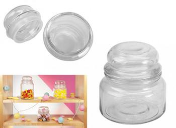 300ml Retro Glass 'Sweetie' Jar
