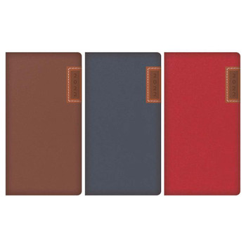 2022 Week To View Embossed & Stitched Panel Design Slim Diary