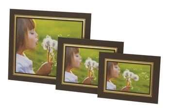 "Pack of 10 Brown Photo Strut Mounts  7x5"" / 13x18cm"