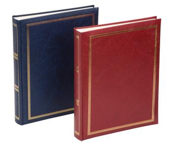 Sonata Blue Classic Self Adhesive Photo Album 26x33.5cm