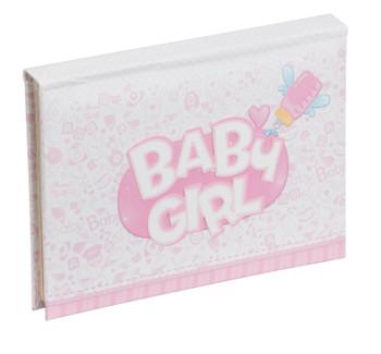 """Baby Girl Mini Pop Up Album 6x4""""/10x15cm"""