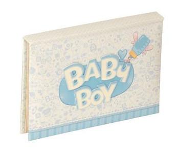 "Baby Boy Mini Pop Up Album 6x4""/10x15cm"