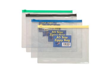 12 x A5 Zippy Bags (Assorted)