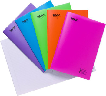 10 x A4 PP Exercise Notebook