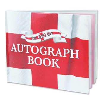 St George's England Autograph Book