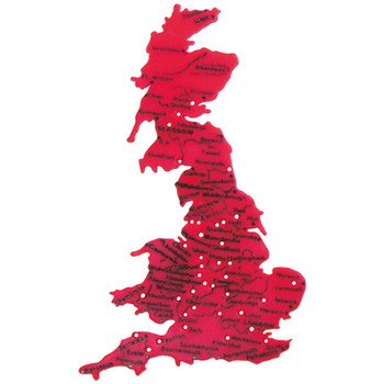 Tracemap of England, Wales and Scotland